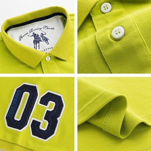 Image 5 - Men Summer New Brand Cotton Classic Casual Embroidery Polo Shirts Men Business Short Sleeve Stand Collar Tops&Tees Polo Shirt