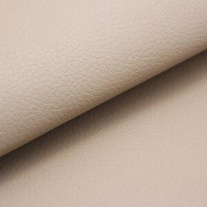 Image 4 - عجلة توجيه سيارة مقبض الباب مسند الذراع لوحة مقعد مقبض قطعة كاملة ستوكات الجلود الغطاء الواقي 1.38*0.5 متر