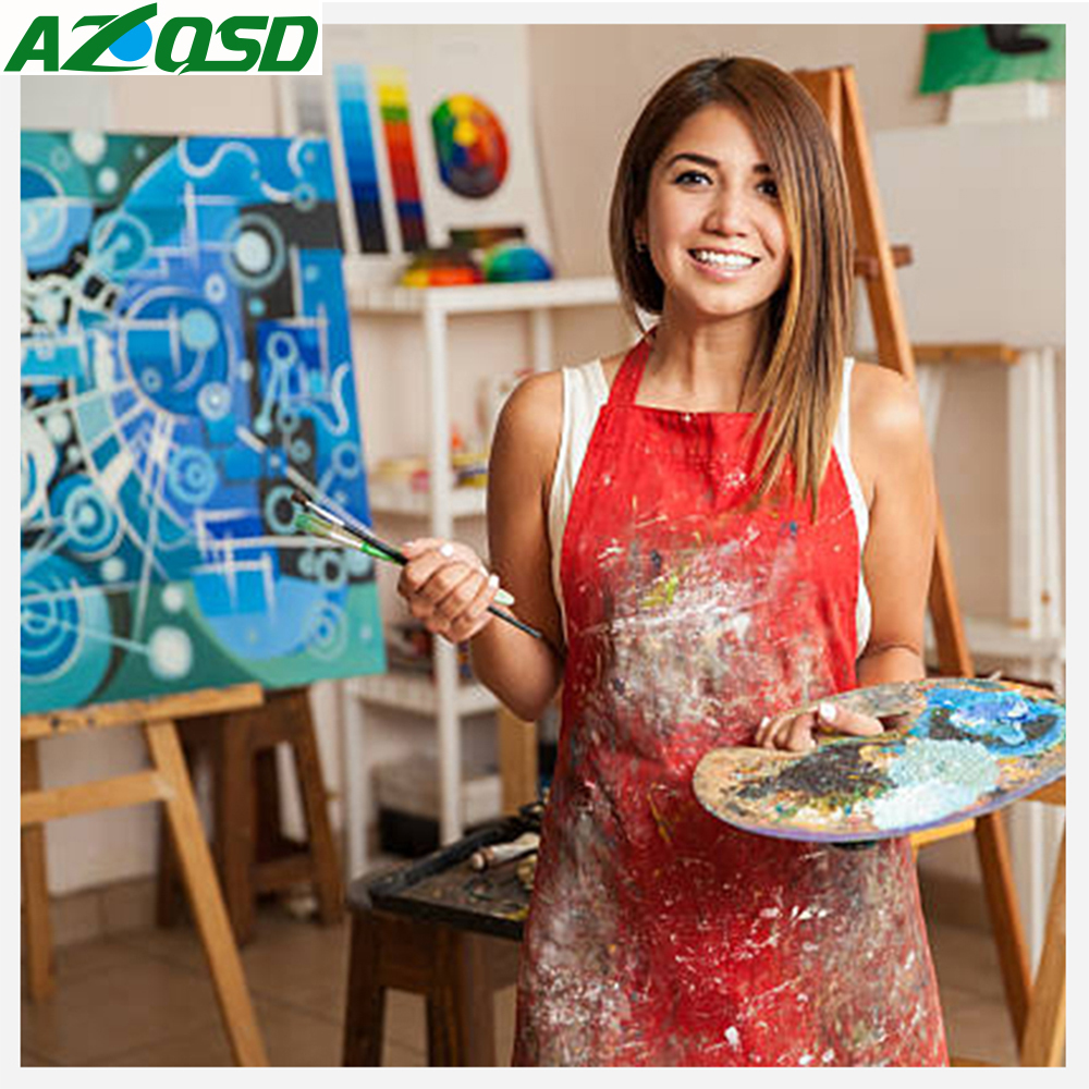 Ölfarbe Gemälde Von Zahlen Persönlichkeit Foto Angepasst DIY Bild Zeichnung von Zahlen Leinwand Färbung durch Zahlen Acryl