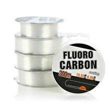 Высококачественная моноволоконная нейлоновая рыболовная леска 300 м Fluro углеродное покрытие (DLC) Япония не фторуглеродная леска для ловли карпа