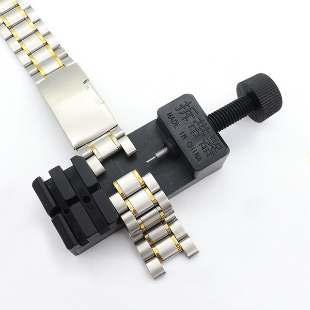 Watch Band Link Adjust Slit Strap Bracelet Chain Pin Remover Adjuster Repair Tool Kit For Men/Women Watch 1