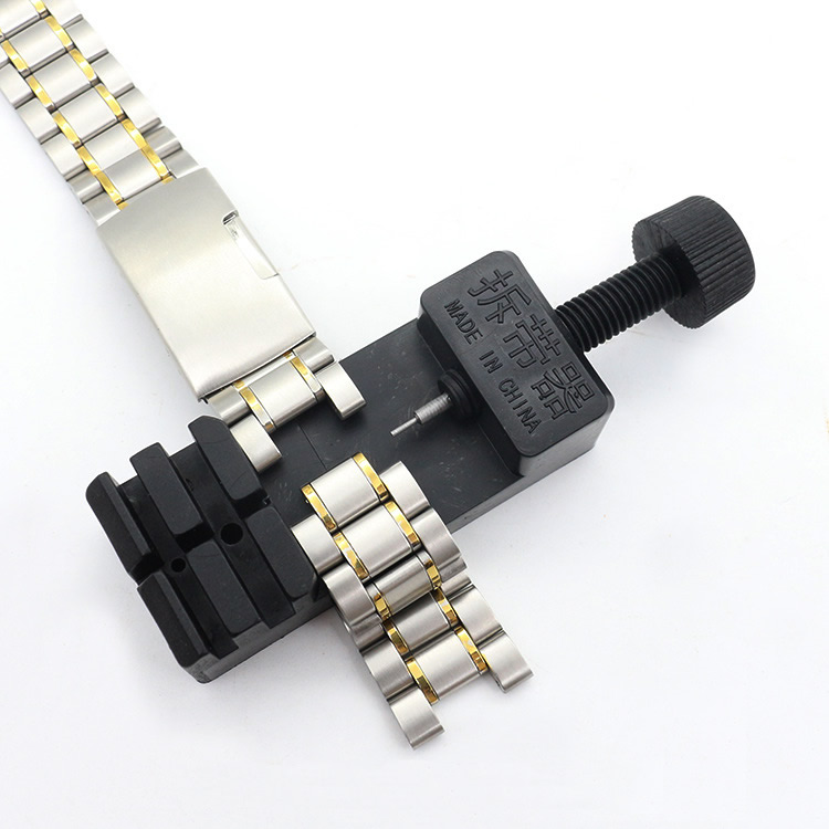Watch Band Link Adjust Slit Strap Bracelet Chain Pin Remover Adjuster Repair Tool Kit For Men/Women Watch