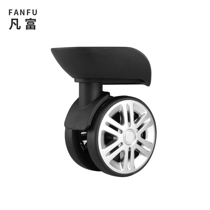Replacement Suitcase Luggage Nylon Colorful Wheels Accessories Universal Wheel Rolling Suitcase Accessories Aircraft Box Wheels