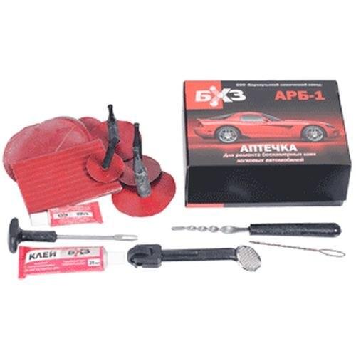 First Aid Kit for repair tubeless tire БХЗ АРБ-1 seal repair kit