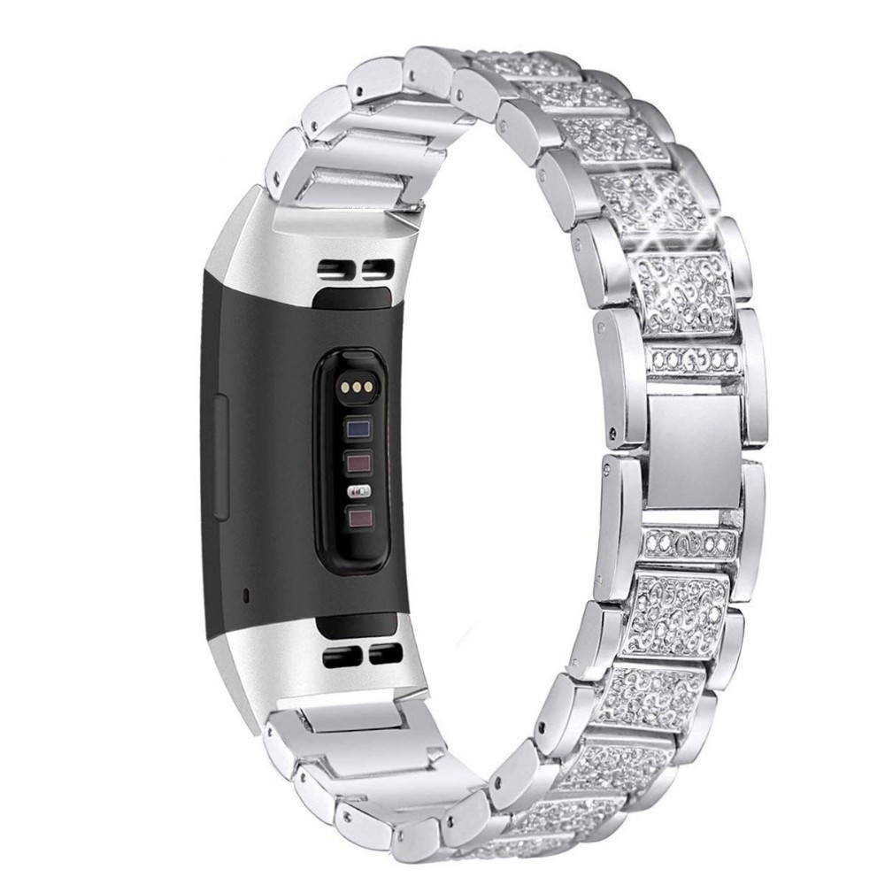 Replacement Stainless Steel Bracelet Strap Band Wristband For Fitbit Charge 3