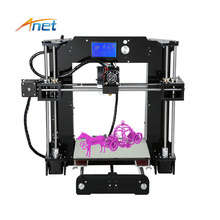 Hot sale Anet A8/A6 imprimante 3d printer machine diy 3d large printing machine prusa i3 3d printer kit home/office use for kids creality 3d cr 10 s4 3d printer large prusa i3 diy kit large diy desktop 3d printer diy education cr 10 series