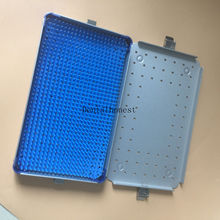 Silver Aluminium alloy sterilization tray case surgical instrument stainless steel endoscope sterilization tray box case surgical instrument tool tray