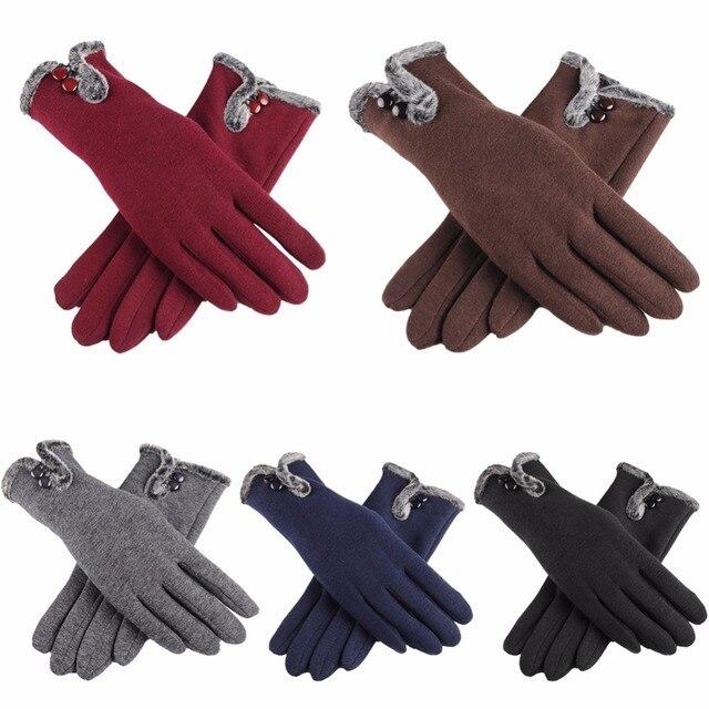 8 цветов женские Беговые тачскрин зимние теплые перчатки с толстой подкладкой теплые лыжные перчатки для спорта на открытом воздухе Туризм Велоспорт Альпинизм