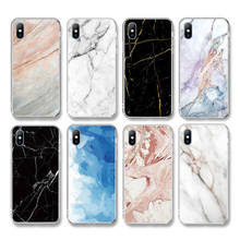 Ottwn For iPhone 11 Case 7 8 6 6s Plus 11 Pro XS Max XR X 5 5s SE Marble Stone Texture Phone Case Soft TPU Cover For iPhone 7-in Fitted Cases from Cellphones & Telecommunications on AliExpress