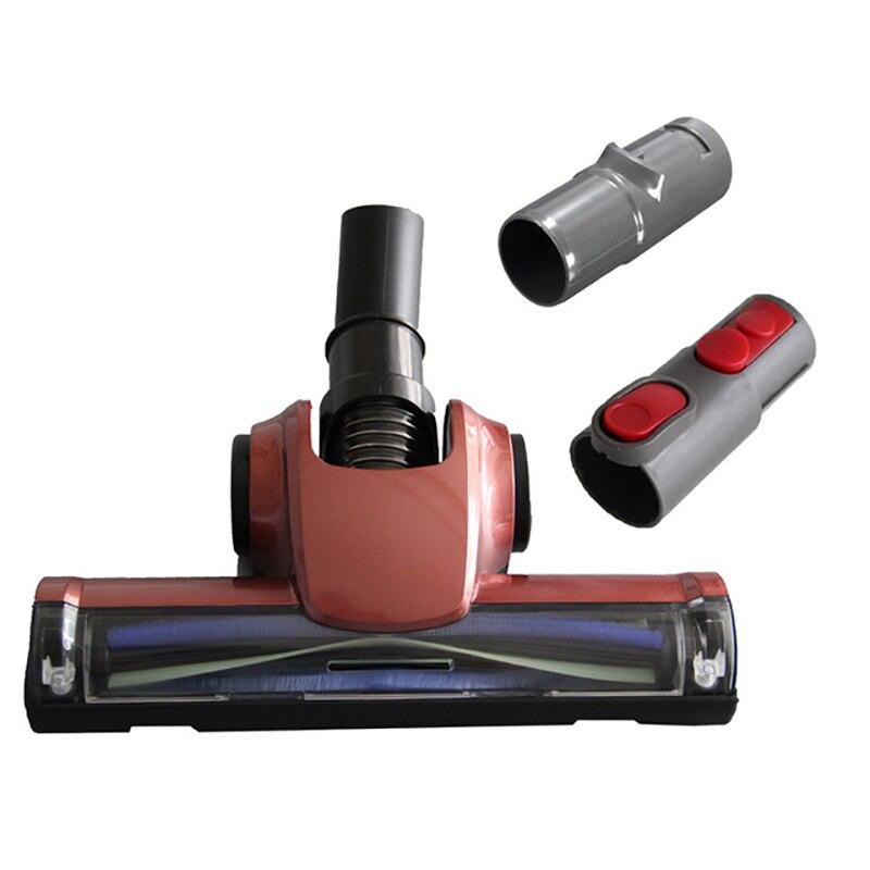 32 мм Прекрасный пол головка щетки инструмента для Dyson V7 V8 Air вращающаяся щетка с 2 адаптера пылесос Запчасти