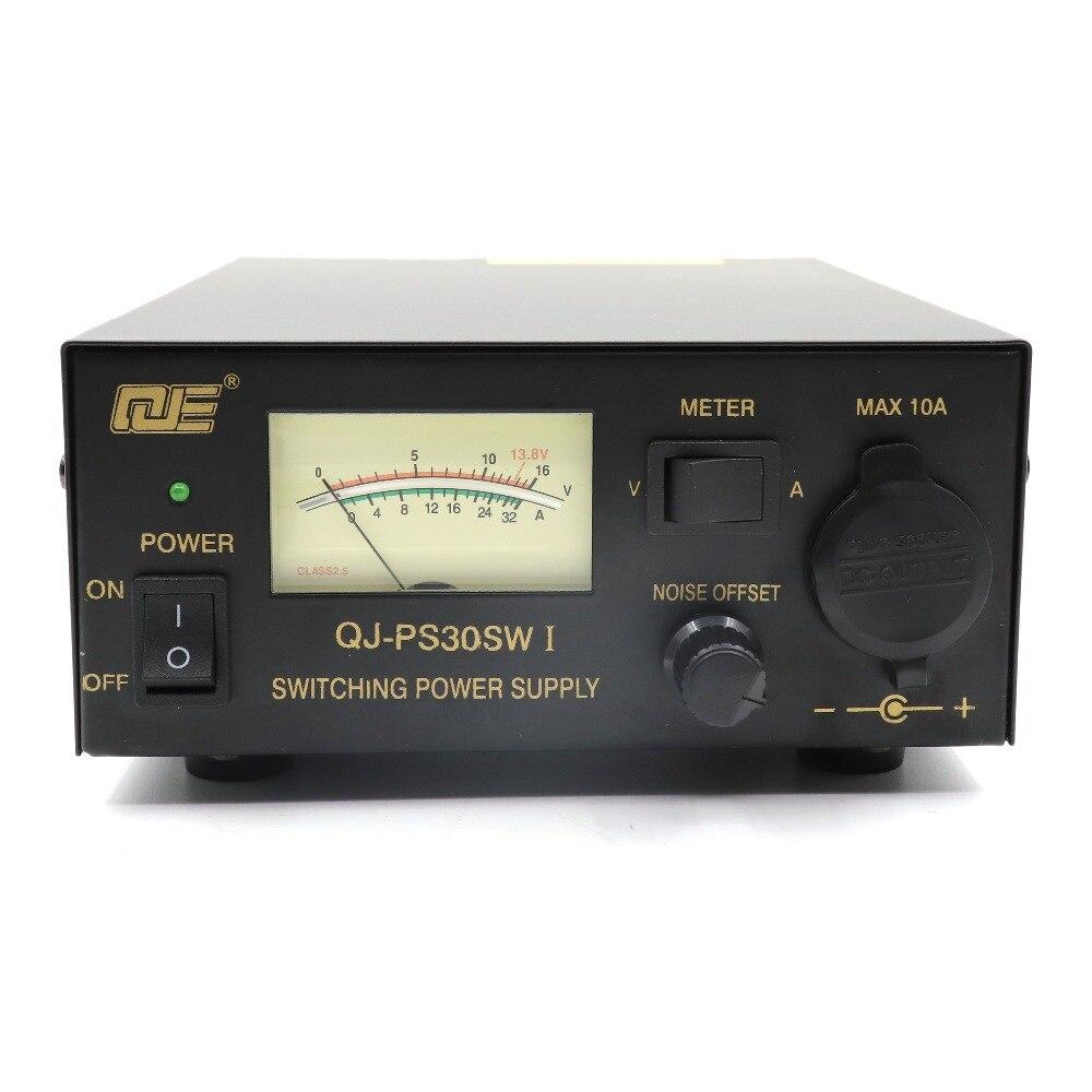 QJE alimentation 13.8V 30A PS30SWI alimentation à découpage station de base à ondes courtes alimentation en fonctionnement