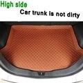 ZHAOYANHUA Custom fit Hohe seite auto Stamm matten für Mercedes Benz E klasse W210 W211 W212 W213 200 260 3 durable Boot Teppiche auf