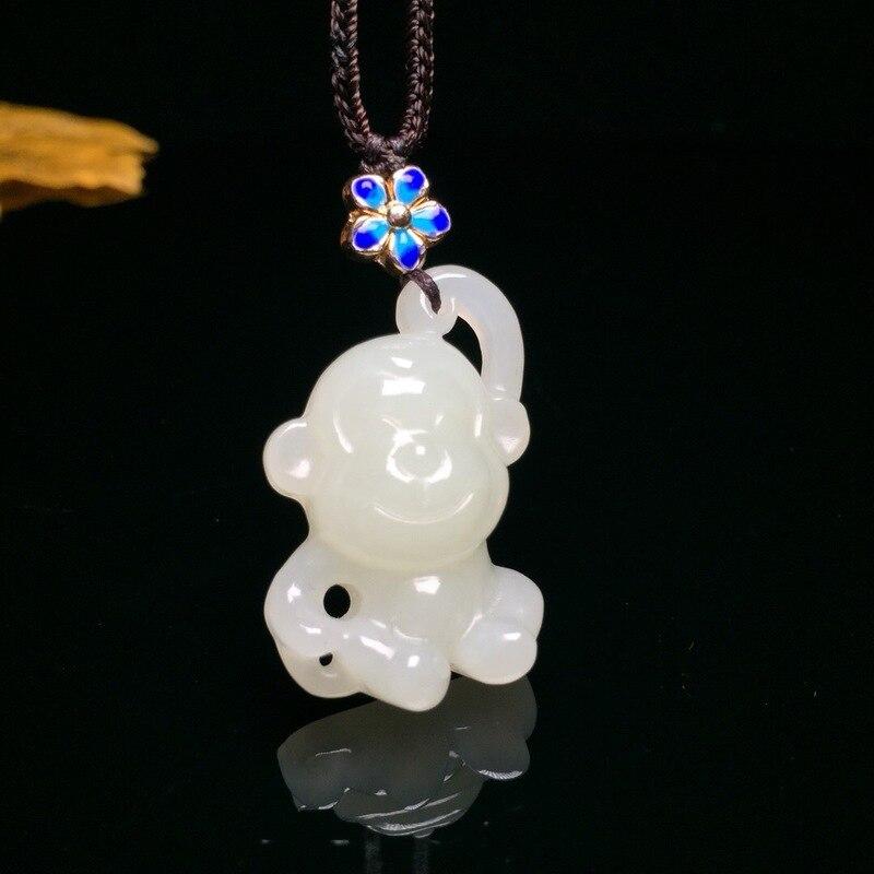 Druzy Reiki Popsocket vente garçons glisser Chakra naturel pendentif Buda et Tianyu petit singe Vibrant sage Tianbaiyu zodiaque pour