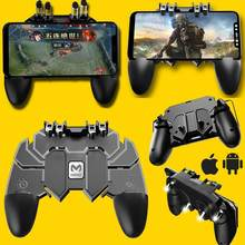 Hobbylane 66 L1R1 Shooter Merenggang Pubg Game Controller Universal Colorful Gaming Joystick Gamepad Memicu Tombol Api D25(China)