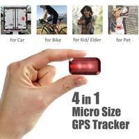 New T630 GPS Tracker For Dog Children Pets Motorcycle Kids Bikes IP65 Waterproof Level Tracking Locator Standby 7 Days Nano SIM