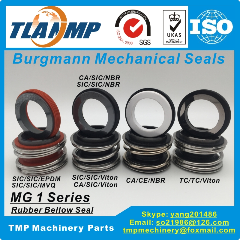 MG1-90 , MG1/90-G60 , MB1-90 , 109-90 Burgmann Mechanical Seals for Water Pumps with G60 stationary seatMG1-90 , MG1/90-G60 , MB1-90 , 109-90 Burgmann Mechanical Seals for Water Pumps with G60 stationary seat