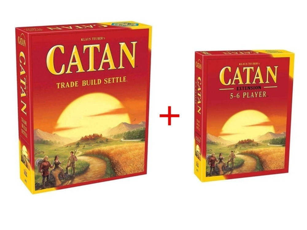 Catan Board Game: Trade Build Settle 5.0 Version / Seafarers 5-6 Player Extension pack image