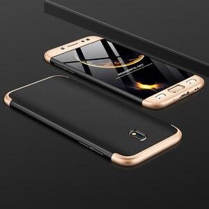Чехол с полной защитой 360 градусов для Samsung J3 J5 J7 Pro 2017, ударопрочный жесткий чехол для Samsung Galaxy J7 2017 J330 J530 J730