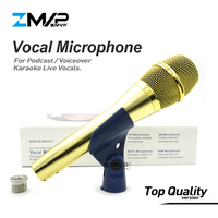 Top Quality Version KSM9 Professional Live Vocals KSM9G Dynamic Wired Microphone Karaoke Super Cardioid Podcast Microfono Mic