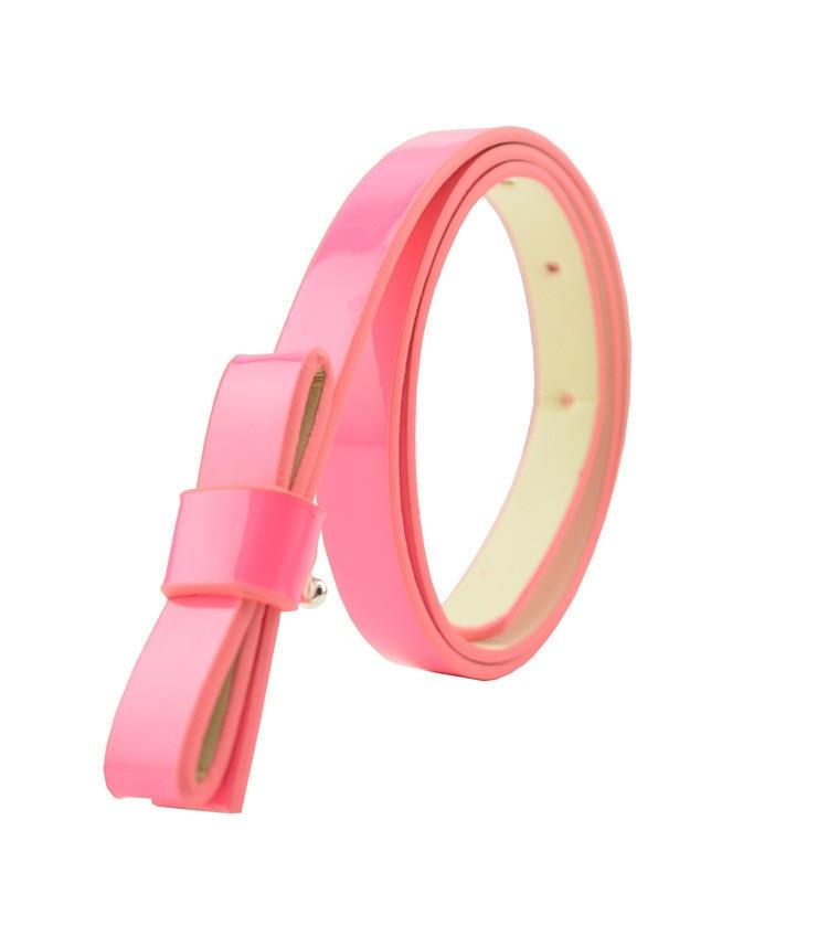 Accessoires Brillant 2018 Multicolor Optional 100% Von Neue Waren Großhandel Mode Joker Bowknot Schmuck Kinder Gürtel Weibliche Hohe Qualität Pu Gürtel SchöN In Farbe Mädchen Kleidung