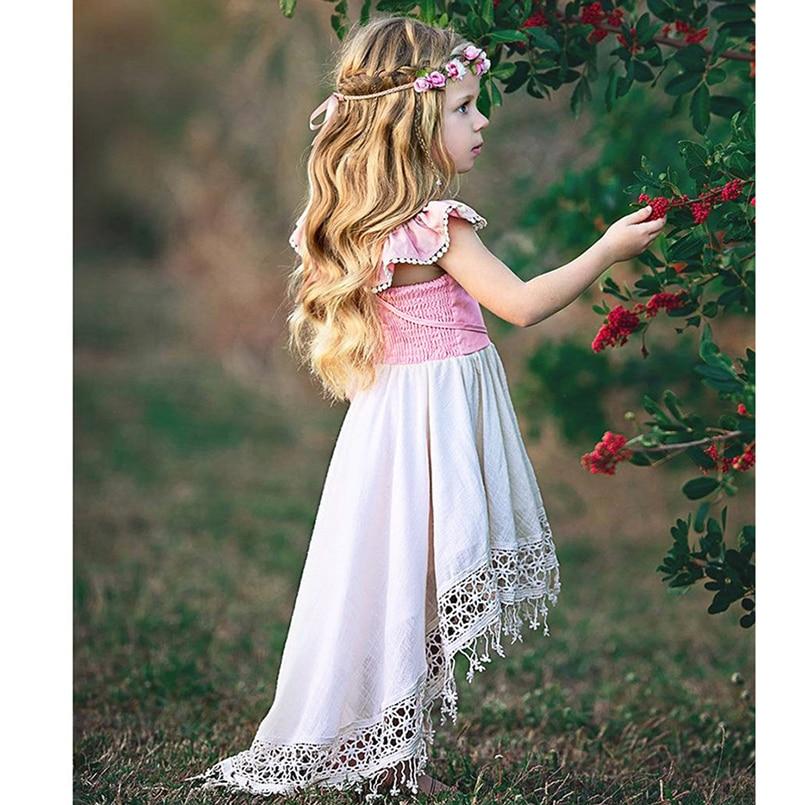 609439ade0 Adorable tassel dress for girls beach dress summer kids sleeveless bohemian  style princess dress children costumes holiday-in Dresses from Mother & Kids  on ...