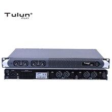 4 канала 750 Вт на 8 Ом Класс D 1U Профессиональный усилитель мощности DJ сабвуфер poweramp PA Stage Tulun play M50D
