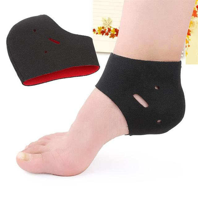 19c32852cf RUIMIO 2Pcs Plantar Fasciitis Therapy Wrap Heel Foot Pain Arch Support  Ankle Brace Heel Warm Protector Insole Orthotic