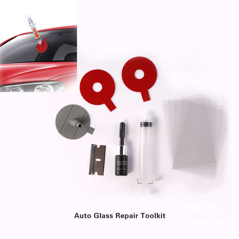 Windshield Repair Kits DIY Car Window Repair Tools Glass Scratch Windscreen Crack Restore Window Screen Polishing Car-Styling