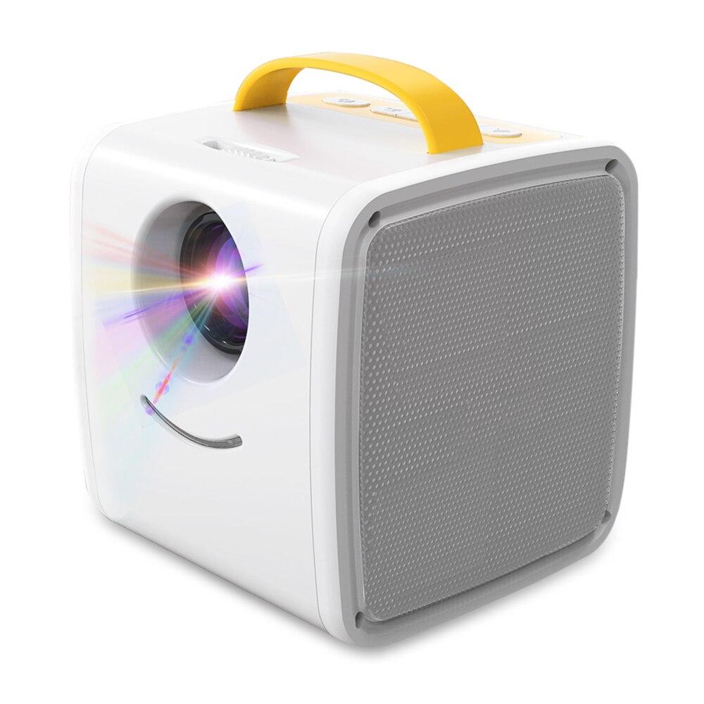 Q2 Mini projecteur LCD Portable 700 lumens double haut-parleurs Full HD 1080 P 320x240 Mini projecteur avec télécommande Home cinéma