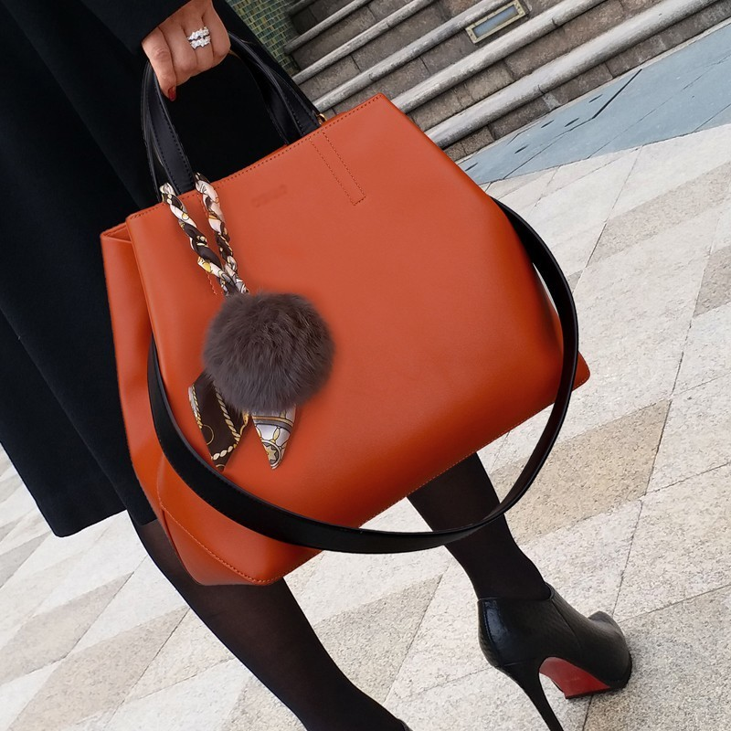 Super Seabob Woman Handbags Fashion Leather Handbags Venonat Luxury Bags Shoulder Bag Big Capacity Bags Ladies