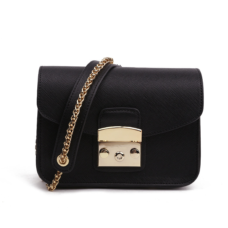 8eb3f7d578 2018 Shoulder Crossbody Bags For Women Chain Leather Luxury Handbags Women  Bags Designer Famous Brands Ladies