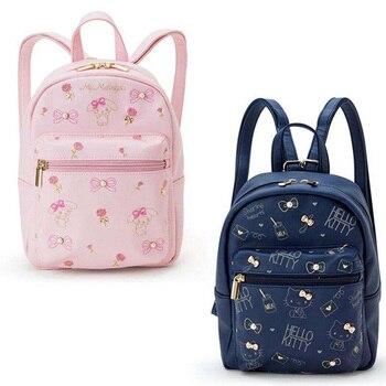 4631bdfc7d67 26 см аниме мультфильм Женская девочка Hello kitty плюшевая сумка-рюкзак PU Сумка  кошелек плюшевая детская сумочка Детский Мини школьный подарок