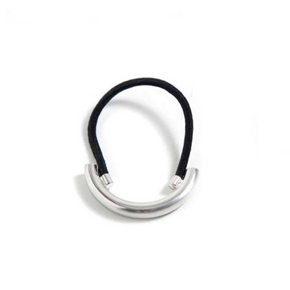 YJSFG HOUSE High Quality Elastic Hair Band Steel ring Gum for Hair scrunchy Women Hair Accessories Girls Hair Rope Headband
