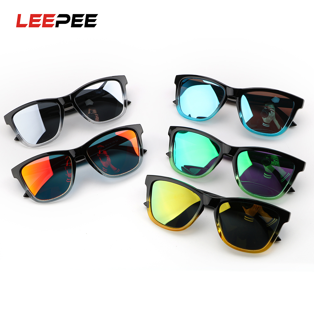LEEPEE Anti Glare UV Protection Polarized Drivers Goggles Outdoor Sports Cycling Glasses Motorcycle Driving Sunglasses