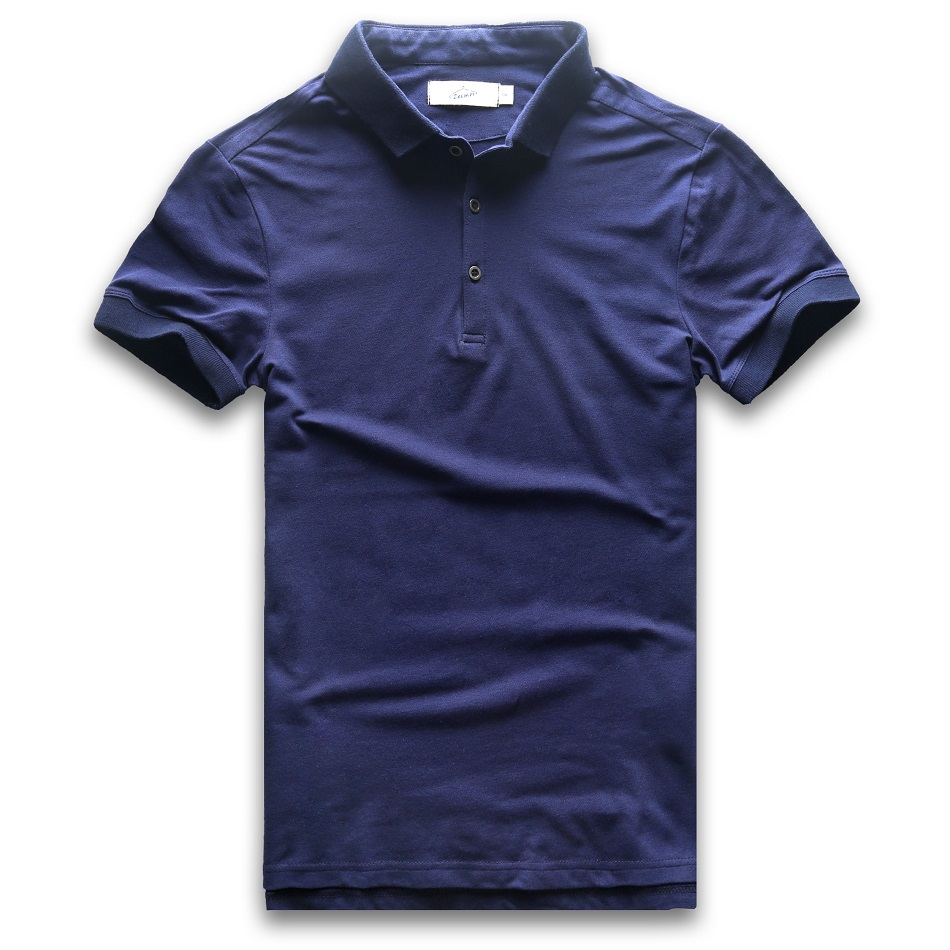 Polo   Shirt Men Slim Fit Short Sleeve   Polo   Men Short Sleeve Solid Cotton Business Casual Fashion Jerseys Summer   Polo   Man