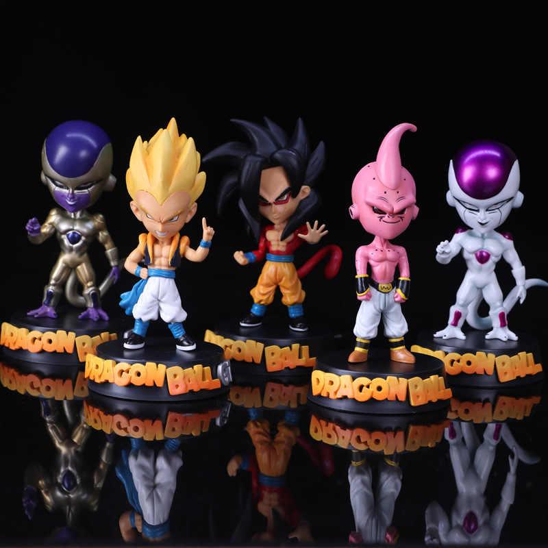 2019 novo Anime Figura Super Saiyan Vegeta Majin Buu Trunks Goku Frieza Pvc Figuras de Ação Dragon Ball Z BANPRESTO modelo de Brinquedo