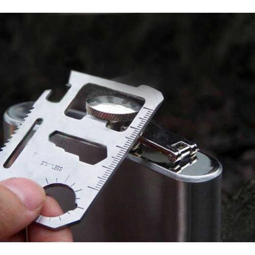 11 في 1 بطاقة الائتمان سكين متعددة الوظائف سكين للخارجية التخييم بقاء الصيد العسكرية جيب سكين الجيش أدوات متعددة المهام