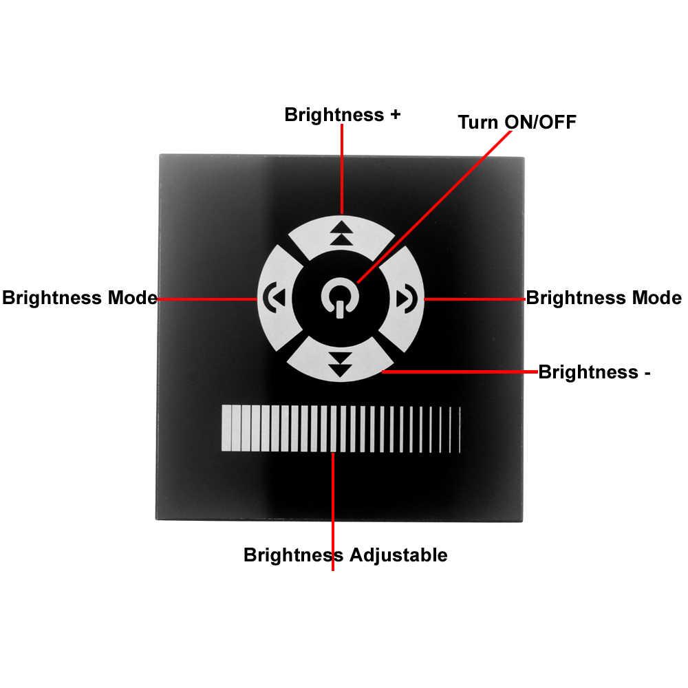Сенсорный выключатель светодиодный диммер 220 В 110 в стандарт ЕС AC 110 В 220 В светодиодный диммер сенсорный диммер для светодиодной лампы 220 в свет