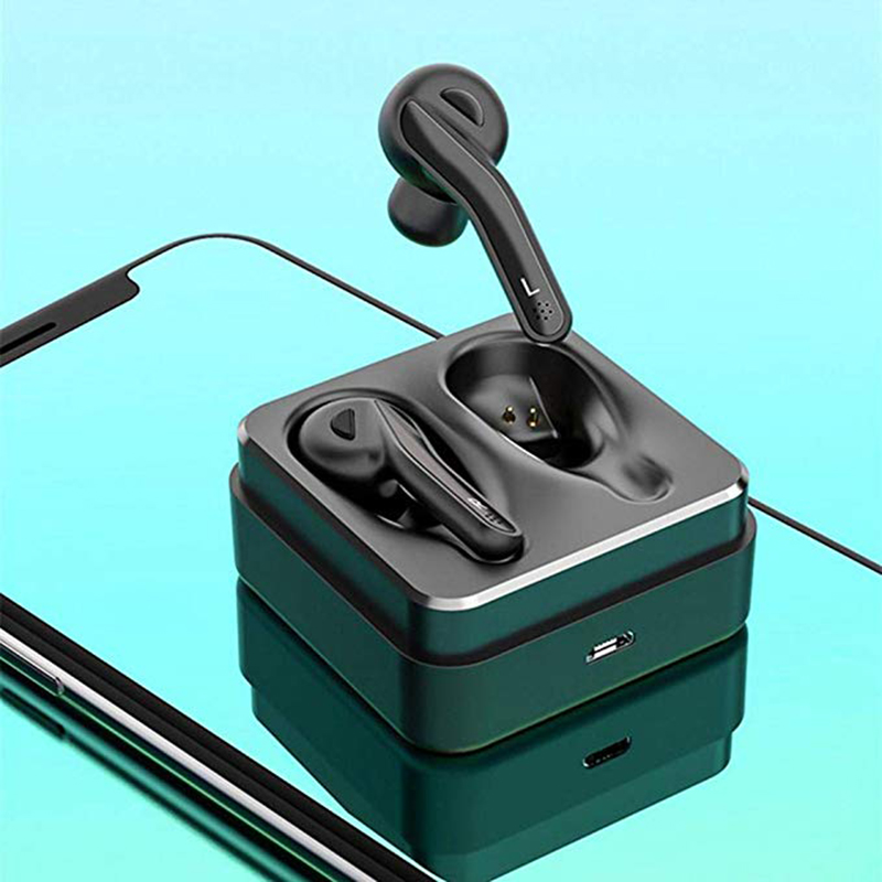 <font><b>T88</b></font> Dural Ear HiFi Bluetooth Earphone <font><b>TWS</b></font> Stereo Earbuds HIFI Earpieces Bluetooth 5.0 Headsets with Charging Box For IOS Android image