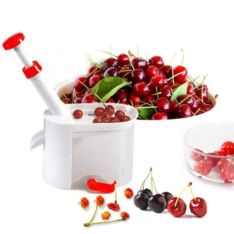 Cherry Pitter Cherry Core Container Cherry Seed Remover Machine Olive Pitter Fruit Nuclear Vegetable Tools Kitchen Gadgets