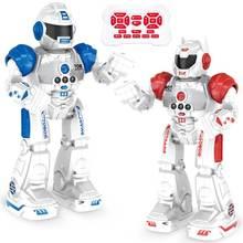 LEORY R5 Интеллектуальный умный робот программируемый АВТО музыкальный танец RC робот датчик жестов RC игрушки для детей подарок