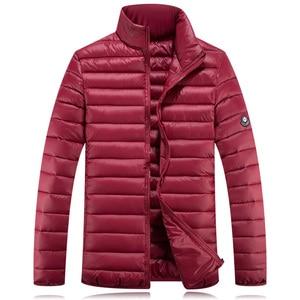 Image 5 - 7xl حجم كبير ملابس الشتاء سترة الرجال أبلى معطف مبطّن 10xl زائد 5XL 6XL 8XL 9XL سترة الذكور الملابس الدهون أسفل معطف