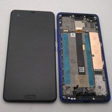 Azqqlbw pantalla LCD Original de 5,7 pulgadas para HTC U, montaje de digitalizador con pantalla táctil para HTC Ocean Note, con marco y herramientas