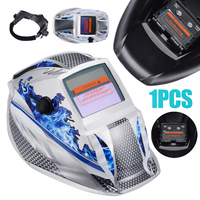 New Welding Helmet Mask Solar Auto Darkening Adjustable Welder Goggles Cap Shade Range DIN 9 13 Protective Equipment