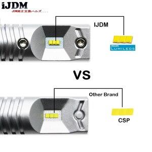 Image 5 - 6000K biały 6 SMD zasilany przez Luxen LED 3157 3357 3457 4114 LED żarówki dla 2011 up Jeep kompas dla światła dzienne 12V