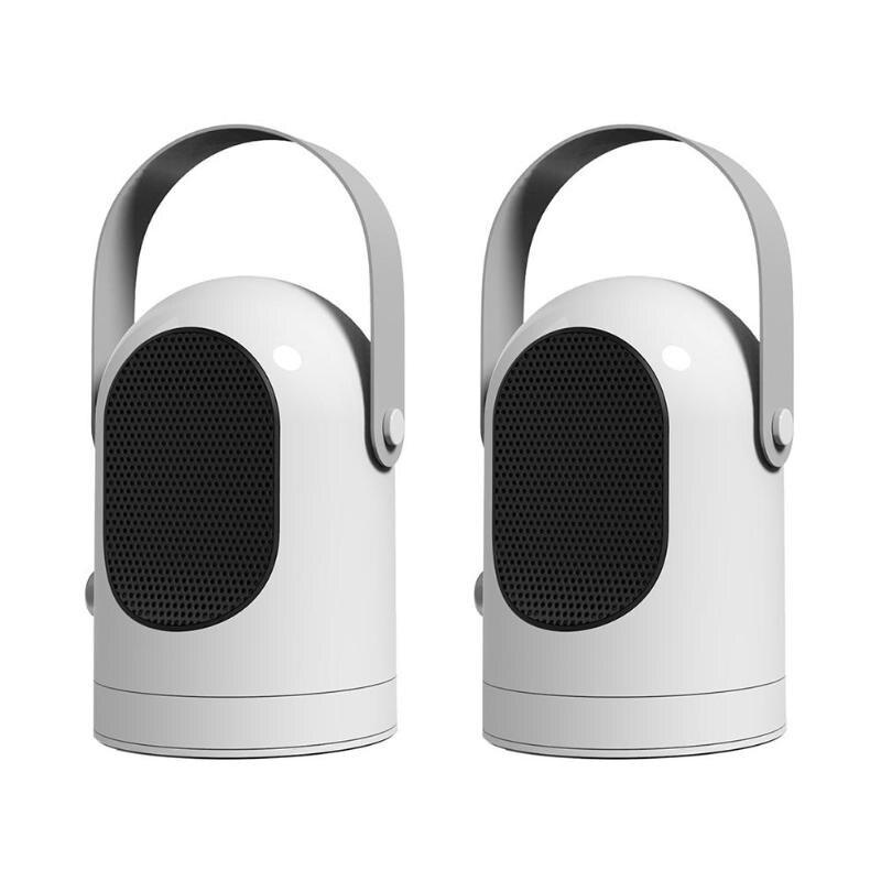 600 W radiateur électrique Mini ventilateur chauffage bureau ménage mur pratique chauffage poêle radiateur plus chaud Machine pour l'hiver