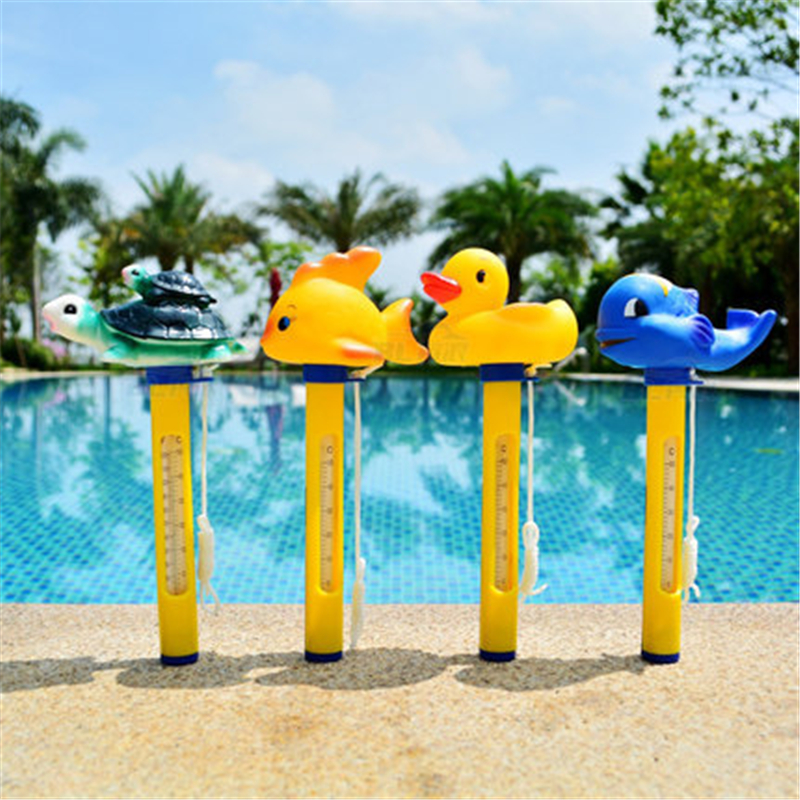 Pool thermometer floating swimming pool thermometer - Swimming pool water temperature gauge ...