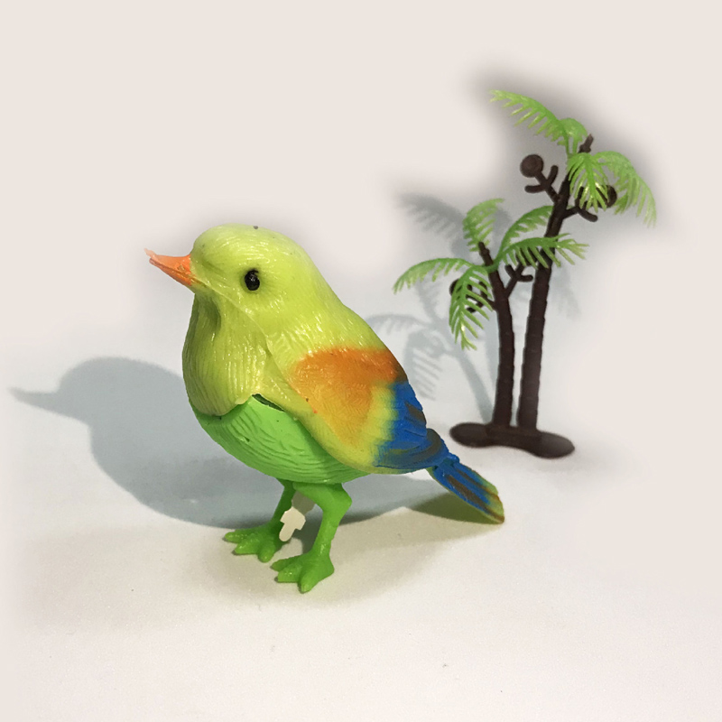 1pcs Simulation Voice Control Music Kawaii Bird Funny Baby Toys Morning Sing Song Toy Mini Sounding Montessori Toys For Children
