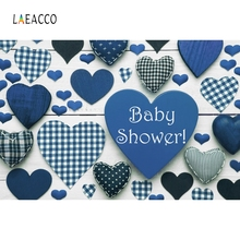 Laeacco Red Heart Baby Party Portrait Backdrop Photography Backgrounds Customized Photographic For Photo Studio