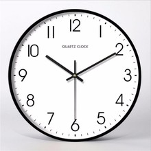 New 3D Wall Clock Silent Movement Simple Modern Design 12inch/14inch Personality Fashion Mute Large Home Decor